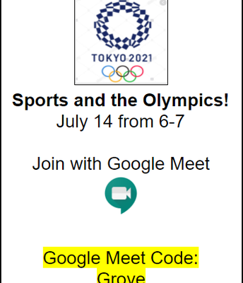 Sports and the Olympics