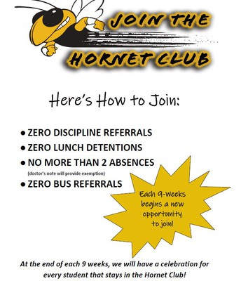 Join the Hornet Club!