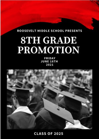 Congratulations 8th Graders on your Promotion!
