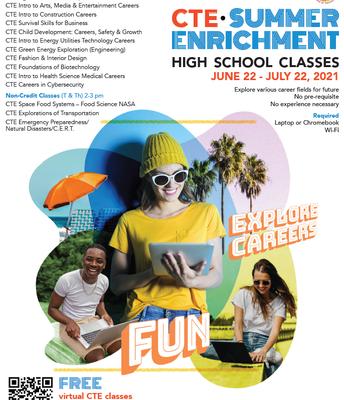Take a Enrichment Class Over Summer!
