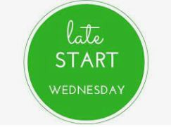 REMINDER, WEDNESDAYS ARE LATE START DAYS; SCHOOL STARTS AT 8:50.