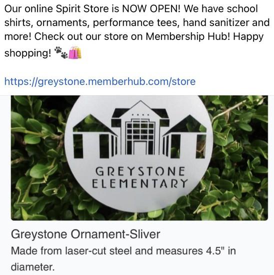 Greystone Online spirit store