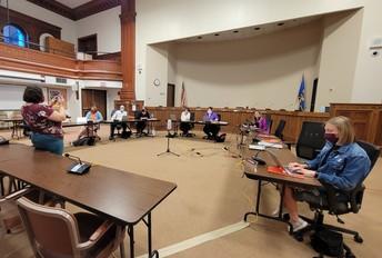 Last Regular School Board Meeting in Historic Old Central