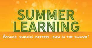 Summer Reading, Writing and Math