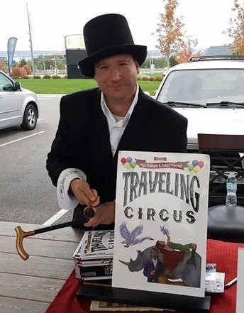 Ingar Rudholm, Author of  The Circus Trilogy