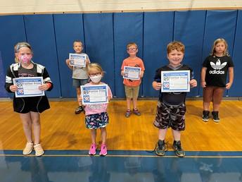 Grades K-2 Awards