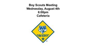 Boy Scouts Meeting