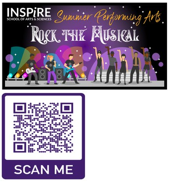 NEW this summer -- INSPIRE SUMMER PERFORMING ARTS!!!