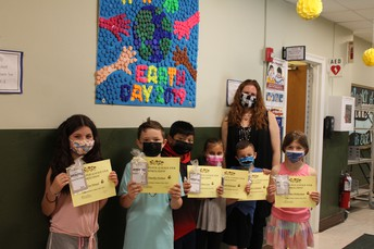 3rd Grade Science Fair Participants