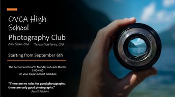 Photogaphy Club - High School