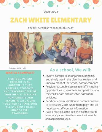 School/Parent/Student Compact