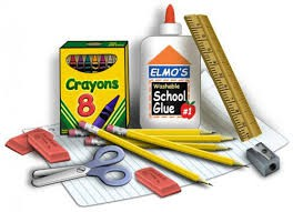 School Supply Lists for each grade level