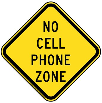 Car Line - No Cell Phone Zone