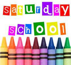 Saturday School - Sept. 11 & 18