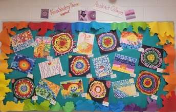 MOSAIC ART CREATED BY OUR STUDENTS