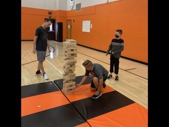 Fun in PE with Mrs. Fouts