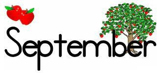 September, what an exciting month!