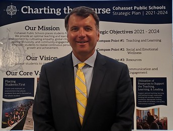 Please follow me on Twitter for daily updates from the Cohasset Public Schools