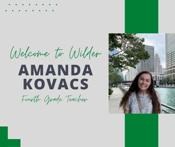 Ms. Amanda Kovacs