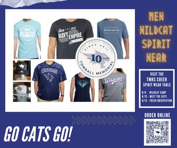 Get your Wildcat Gear!