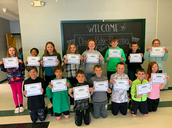 5th-Graders Honored by Their Teachers for All Their Hard Work This Year!