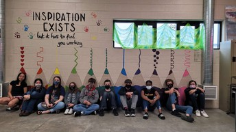 HMS Students Leave Their Mark