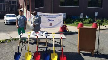Groundbreaking Ceremonies at Clinton & Jefferson Elementary Schools