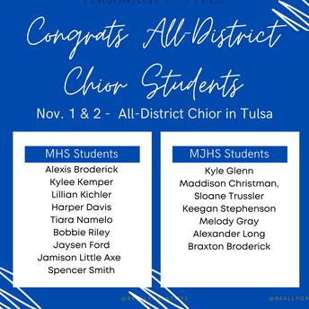 All-District Choir