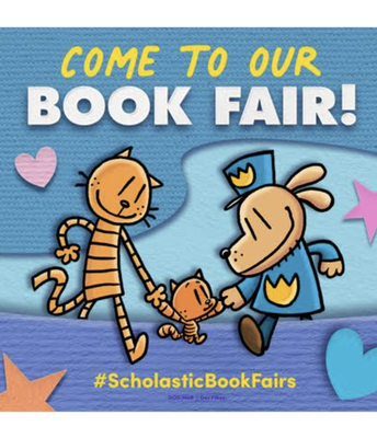 The Fall Scholastic Book Fair kicks off tonight (weather permitting)!