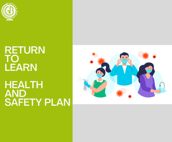 Return to Learn Health and Safety Plan for 2021-22