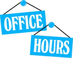 SHS Summer Office Hours