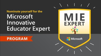 MIE Expert Self-Nominations are OPEN until July 15