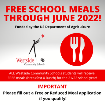 Free Meals, Free/Reduced Applications Available