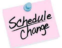 Horario Modificado: el jueves, 17 de junio y el viernes, 18 de junio