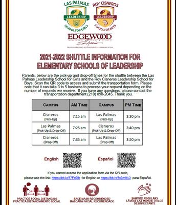 Shuttle Information
