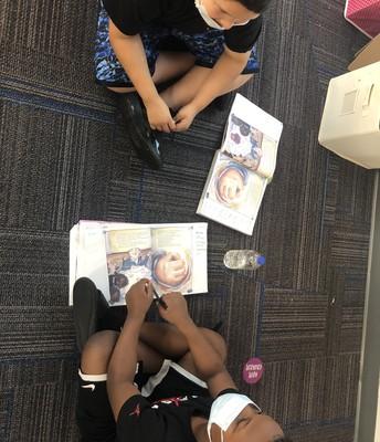 5th Grade Partner Reading