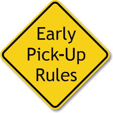 ARE YOU PICKING YOUR CHILD UP EARLY?