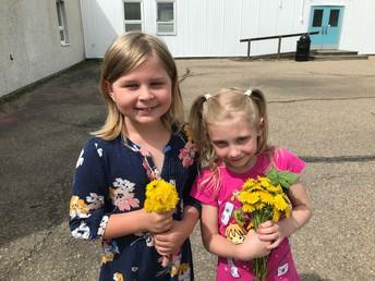 Beautiful bouquets girls!