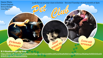 Furr, Feathers, and Fins Pet Club
