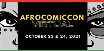 AfroComicCon 2021 VIRTUAL