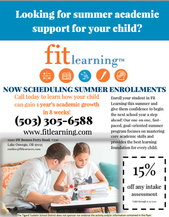 FIT LEARNING