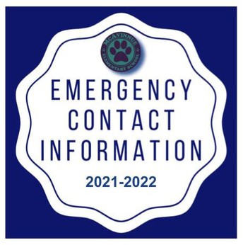 Emergency Contact Form: 2021-2022