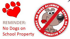 No Dogs on School Property