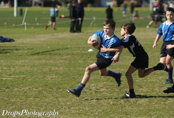 Max T breaking a tackle