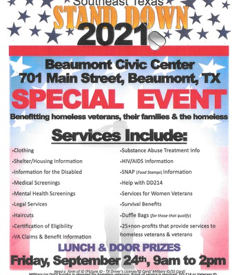 Southeast Texas Stand Down