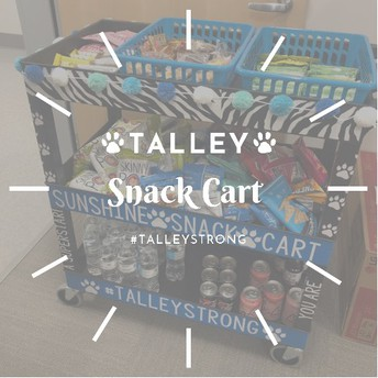 Talley Snack Cart