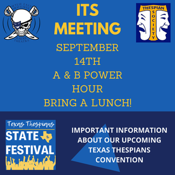 ITS meeting-Tuesday, September 14th