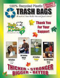PTO TRASH BAG SALES