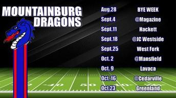 Little League Dragons Football Schedule