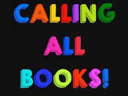 Summer LMC Books Due Back ASAP!